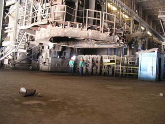 Continuous Electric Arc Furnace Mfg Fuchs Year 1997 This